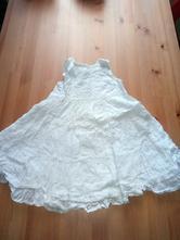 Bílé šatičky zn. h&m vel. 92, h&m,92