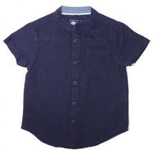 Bavlněné tm. modrá košile, rebel,92