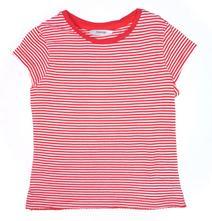 Bavlněné červeno bílé tričko, george,110