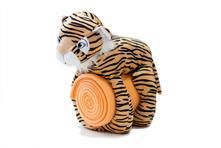 Dětská deka s plyš. hračkou tigrík,