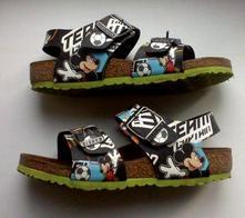 Zdravotní kožené sandále birkenstock,super stav, 31