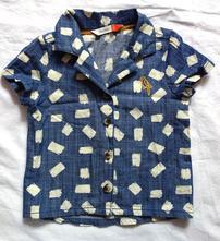 Košile s kr. rukávem vel. 3 - 6 m, john lewis,68
