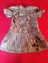 Dívčí šaty - šatičky - podzim - listy, gap,92