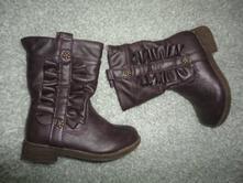 Krásné boty, kozačky f+f, vel. 22, uk5, f&f,22