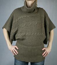 Hnědý pletený cardigan, new look,38
