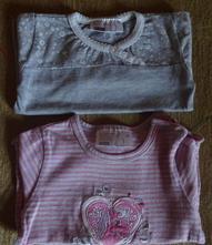 2x tričko, vel. 56, 62, ergee,56