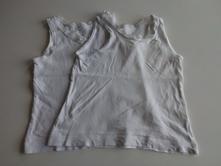 2x košilka/tílko vel.104 (č.966), tu,104
