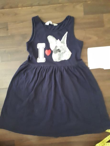 Bavlněné šaty 110-116, h&m,110
