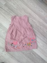 Manzestrove šaty, marks & spencer,80