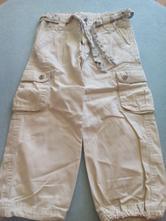 Plátěné kalhoty s bavlněnou podšívkou, 104