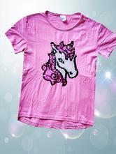 Pěkné dívčí tričko s měnícím obrázkem vel.- 146, 146
