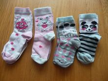 4x ponožky, kik,25