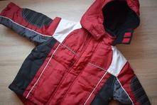 Červená zimní bunda, vel. 104, kiki&koko,104