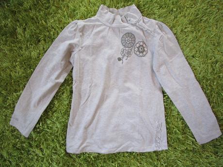 Tričko s dlouhým rukávem, coccodrillo,140