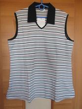 Těhotenské triko bez rukávů zn. baby-walz, 44