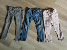 3ks džínové kalhoty h&m 92/98, h&m,98