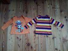 2x tričko s dlouhým rukávem 86-92, lupilu,92