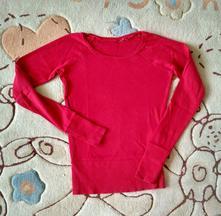 Červené tričko značky h&m, h&m,xs