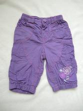 Podšité kalhoty s výšivkou - f&f - vel. 3 - 6 m. (, f&f,68