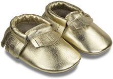 Mini mokasíny zn. bibalou - zlaté, <17 - 23