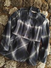 Kabát károvaný kabátek, orsay,m