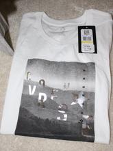 Bílé tričko vel. m, converse,m