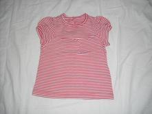 Pruhované tričko 9 - 12 m, mothercare,80