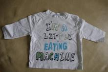 Bavlněné tričko 0-3m, cherokee,62