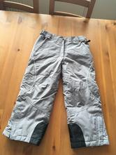 Velmi teplé zimní kalhoty na lyže, vel. 122/128, 122