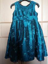 Sváteční šaty, george,98