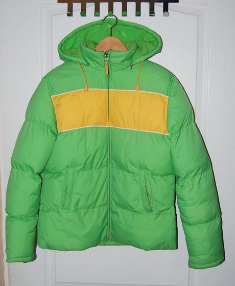 Prošívaná zimní bunda, fishbone,m