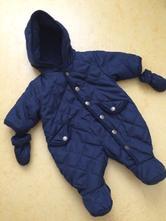 Tmavě modrá zimní kombineza, george,68