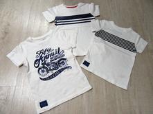 Set 3 triček, next,98