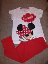 Bavlněné pyžamko minnie mouse, disney,92