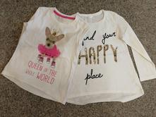2ks triček, pepco,116