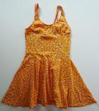 Bavlněné strečové šaty, h&m,152