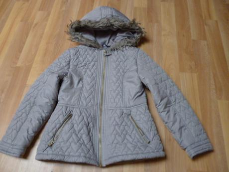 Krásná přechodová bunda george srdíčka vel. 8-10 l, george,134