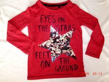 Bavlněné tričko next s hvězdou , next,116