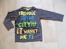 Triko tričko s neonovým nápisem, topolino,116