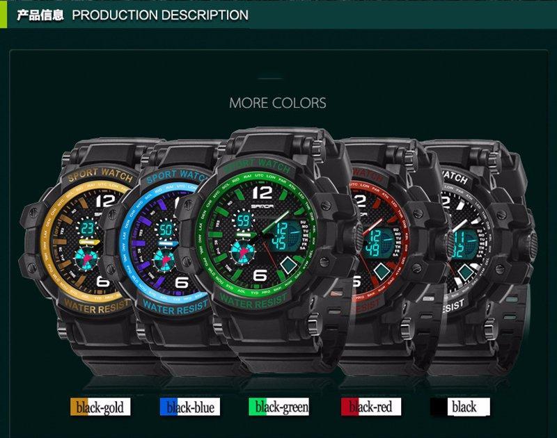 948e142d8 Pánské hodinky skmei sanda - 5 barev, - 365 Kč Od prodejkyně maffay11 |  Dětský bazar | ModryKonik.cz