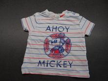 Tričko s mickey mouse, disney,74