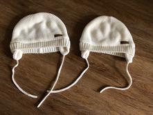 2 x zimní čepice, h&m,74