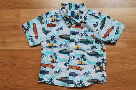 Frajerská  košile s auty, matalan,86
