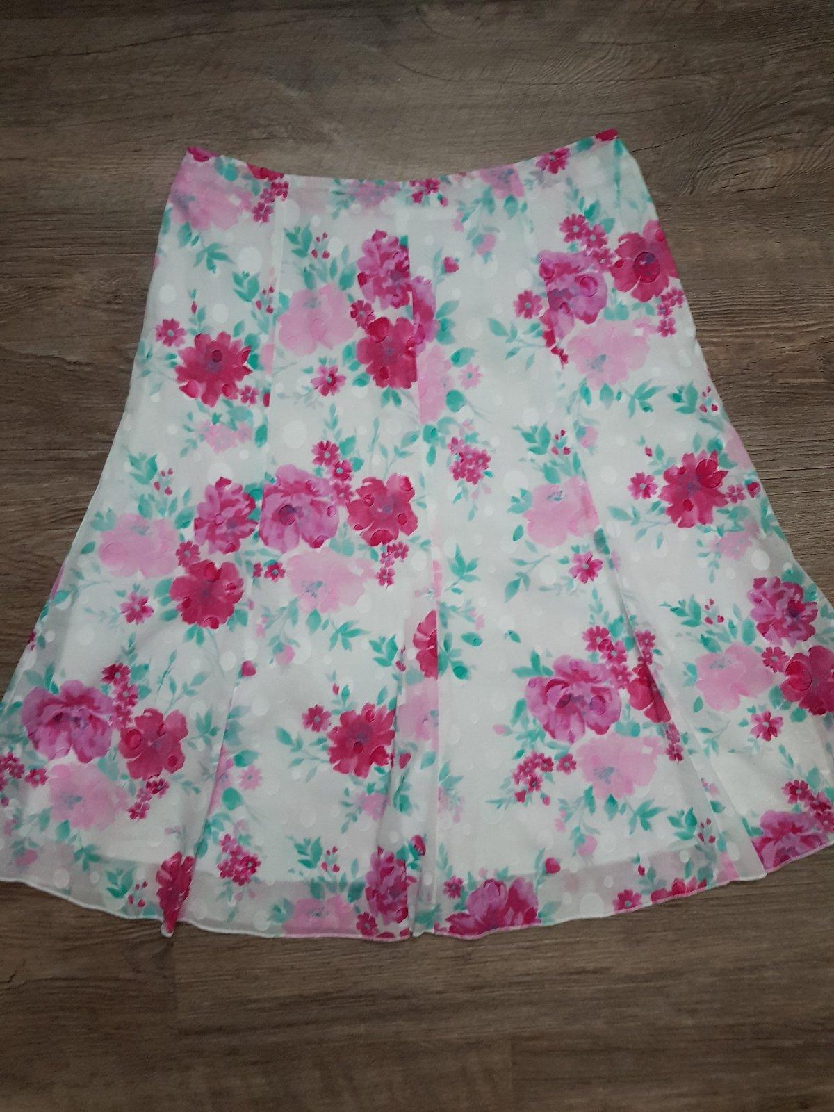 Krásná barevná sukně marks spencer uk 18 46 l ccd969fc12