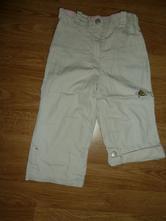 Kalhoty roll-up, podšité, topolino,86