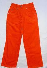 308.oranžové manšestráky 5let, adams,110