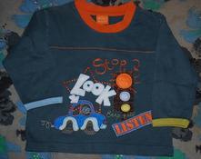 Frajerské tričko mini mode s autem vel. 86, mini mode,86