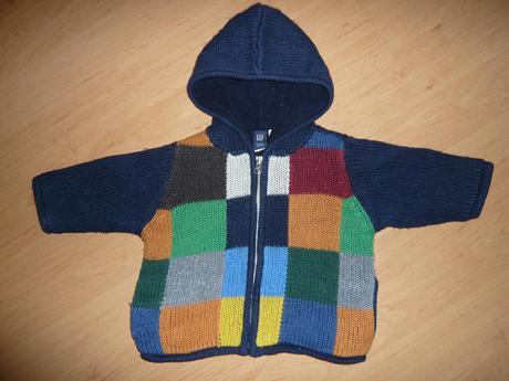 Pletený svetřík, gap,86