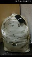 Desigual nový batoh zlatý milan s visačkou,