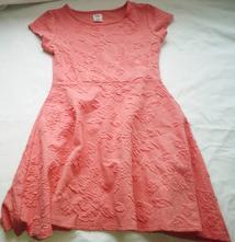 Výprodej velmi hezké oranžové šaty f&f v.128, f&f,128